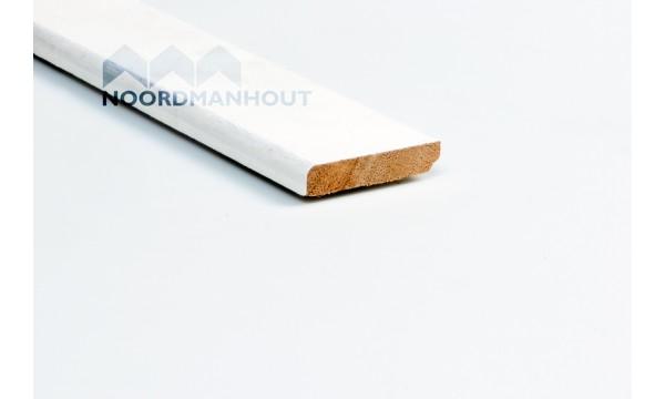 Plinten bewerkt hout